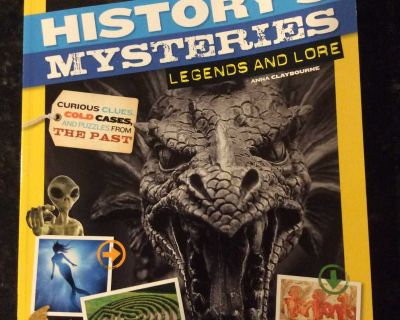 NationalGeographic Kids History s Mysteries Legends and Lore