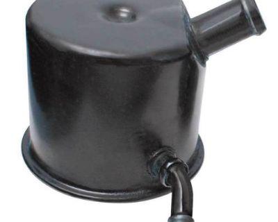 Amd 70-up Mopar Oil Filler Breather Cap W/ 2 Hose Outlets 337-1070-2
