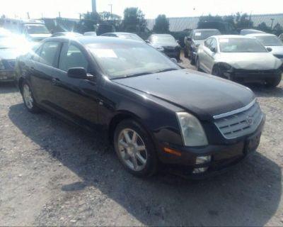 Salvage Black 2006 Cadillac Sts