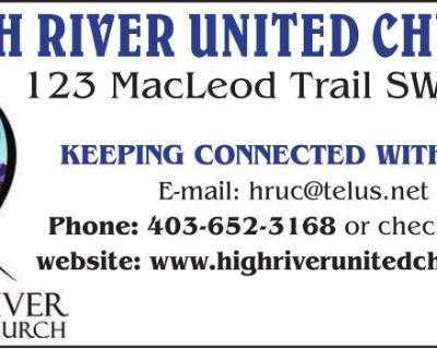 HIGH RIVER UNITED CHURCH 12...