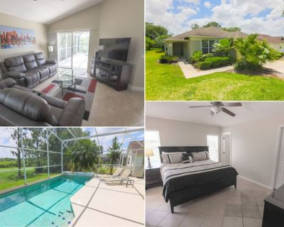 Private pool - Golf Course Views Lanai Tiled Floors Southern Dunes - Haines City