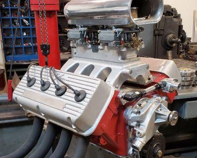 New 392 Hemi engine