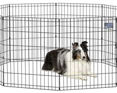Midwest Foldable Pet Exercise Playpen