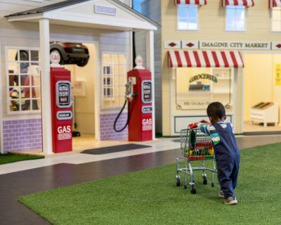 Indoor Miniature Kid's City with Large Scale High Quality Playhomes, Palmdale, CA
