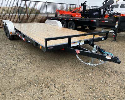 2021 PJ Trailers 4 in. Channel Carhauler (C4) 20 ft. Sport Utility Trailers Elk Grove, CA