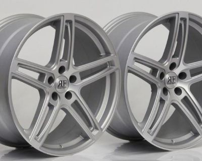 """20"""" Rf-5 Rims Wheels For Audi Mercedes Bmw Lexus Staggered Concave New"""