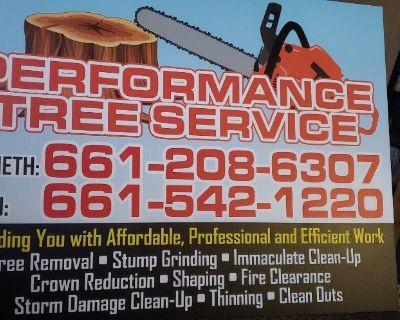 Performance tree service