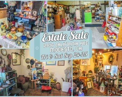 Estate Sale in Modesto by Treasures to Find