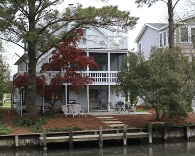 Canal House - Relaxing Family Retreat - South Bethany Harbor