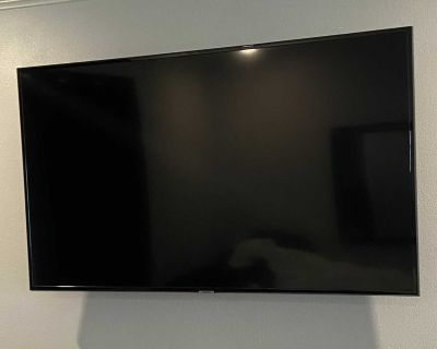48 Samsung Tv with wall mount