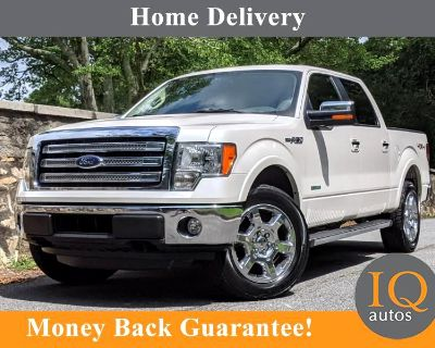 """Used 2014 Ford F-150 4WD SuperCrew 145"""" Lariat"""