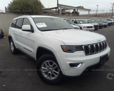 Salvage White 2020 Jeep Grand Cherokee