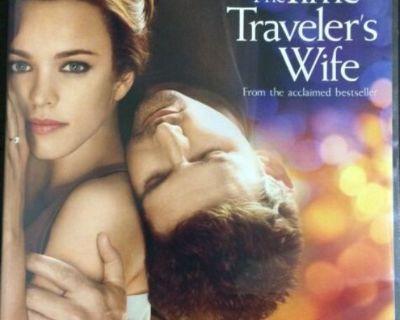 The Time Traveler's Wife Dvd (2009) Eric Bana, Rachel McAdams (Mail It? Paypal it! Click Link Below)