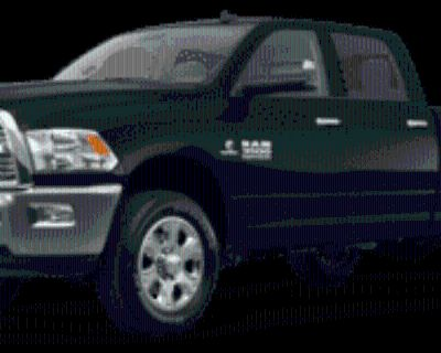 2018 Ram 3500 Laramie Crew Cab 8' Box 4WD