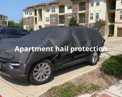 Hail storm protection for vehicles