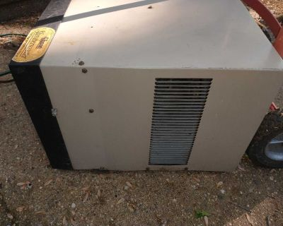 Window air conditioner for a house