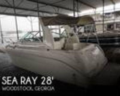 26 foot Sea Ray 260 Sundancer