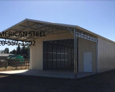 AMERICAN STEEL ALL METAL SHOP'S GARAGE'S RV BOAT & CAR COVER'S