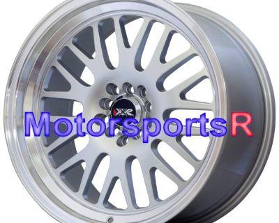 17 Xxr 531 Silver Staggered Rims Wheels 5x114.3 Stance 92 93 98 Mazda Rx7 Fc Fd