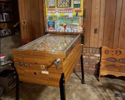 """Silver Sails"" Bingo Style Pinball Machine"