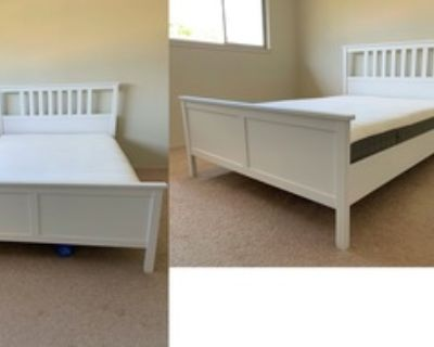 Ikea Queen Sized Bed and Mattress