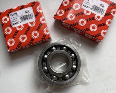NOS Fag Germany Rear Axle Bearings 6306