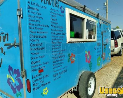 2007 - 6' x 14' Snowball Concession Trailer / Shaved Ice Trailer