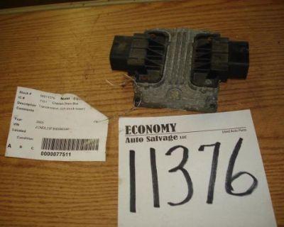 Chevrolet Equinox Chassis Brain Box Transmission; (lh Shock Tower) 05 06
