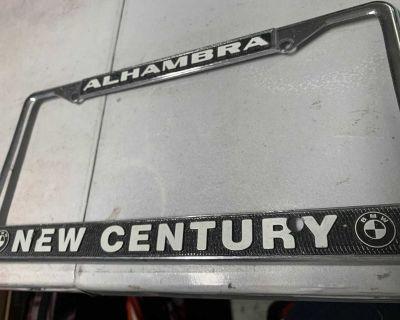 Dealership license plate frames