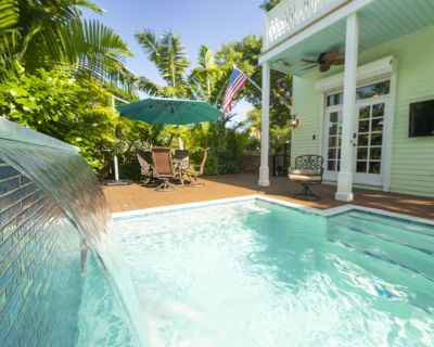 Another Day in Paradise! PRIVATE POOL! Blocks from Duval, 2BR/2BA in Old Town! - Key West Historic District
