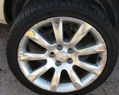 Tires &rims size 19 for buick
