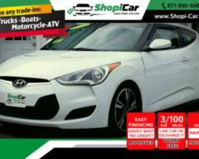 2014 Hyundai Veloster Base with Black Interior Manual