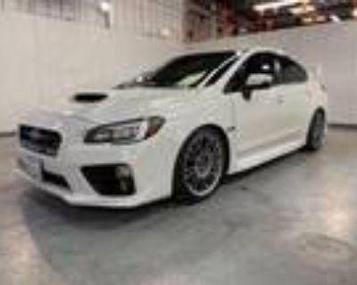 2017 Subaru WRX White, 34K miles