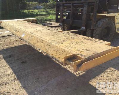 Cerda 4 ft x 20 ft Slide Rail Trench Shield Panel