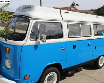 1977 Volkswagen Riviera Camper