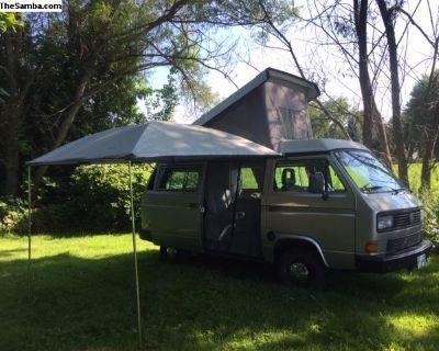 1988 Vanagon GL Westfalia Camper