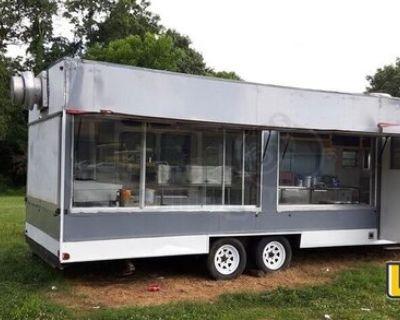 Huge Windows- Mobile Kitchen / Street Food Concession Trailer