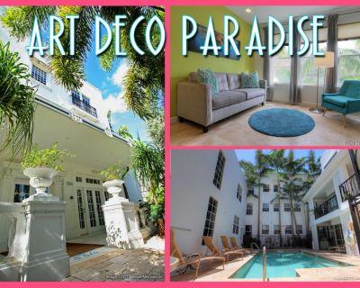 $95 Paradise! South of 5th Art Deco Condo, South Beach Miami's Best Neighborhood - South Pointe