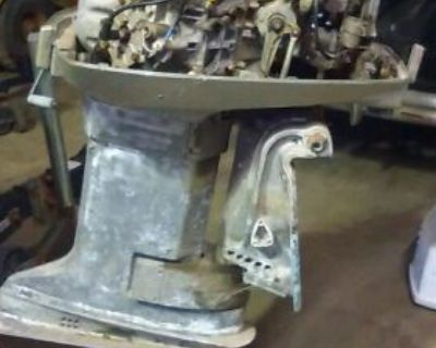 Mid 70s 135 Hp Evinrude Outboard Motor Parts Or Repair