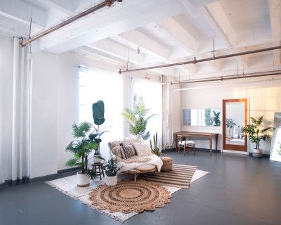 DTLA Boho3 with Rattan Daybed Decor 1,150sf, Los Angeles, CA