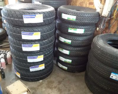 NEW 10-PLY ST225/75R15 Trailer Tires