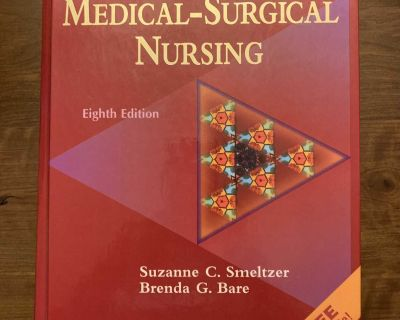 Bruner and Suddarth s Textbook of Medical and Surgical Nursing 8th Edition by Smeltzer and Bare