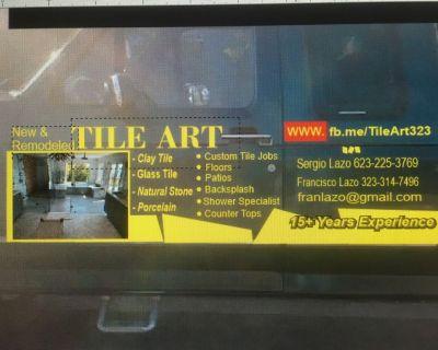 Tile and flooring. Handyman services etc