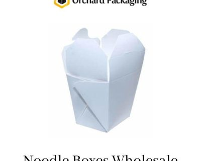 You Can Get Easily Buy Customized Noodle Packaging Boxes