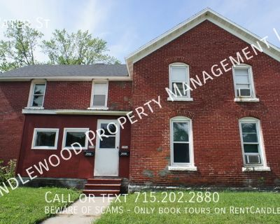 Pet Friendly Two Bedroom Duplex w/ Washer and Dryer Available NOW!