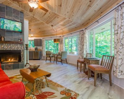 Private Fire Pit & Gas Fireplace BBQ Grill ROKU WiFi Forest Vibe - Dahlonega