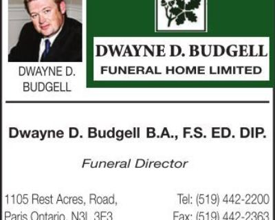 DWAYNE D. BUDGELL DWAYNE D...
