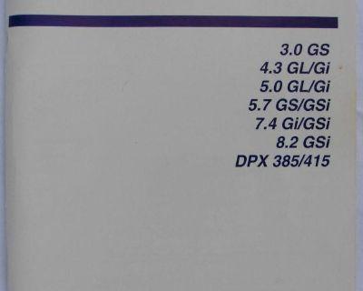 Volvo- Penta- 1999- Original Factory Owner's Manual- 92 Pages