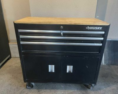 39 Husky Rolling Cabinet Tool Chest