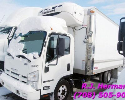 2014 Isuzu NPR 16ft Refrigerated (UNDER CDL) Straight Truck